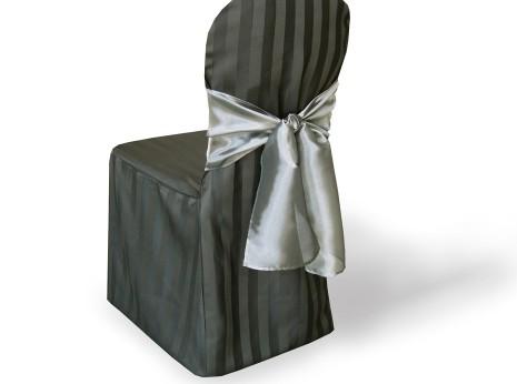 Black Tuxedo Chair Cover