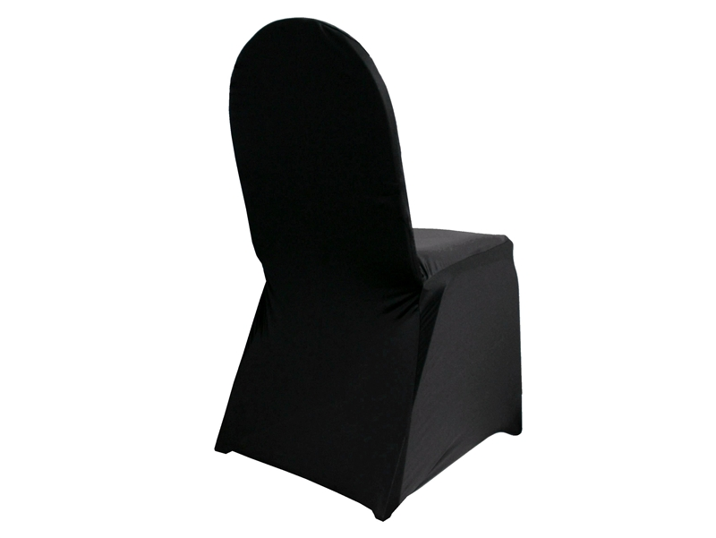 Black Spandex Chair Cover Rebel Party Rentals