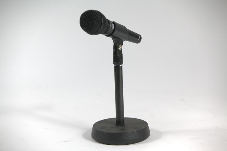 Tabletop Mic Stand Rebel Party Rentals